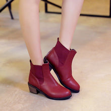 Load image into Gallery viewer, High Heels Ankle Boots Women Shoes New Arrival