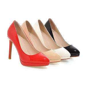 Womens High Heel Sexy Pointed Toe Ladies Pumps Party Stiletto Shoes