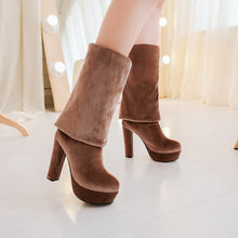 Load image into Gallery viewer, Thigh High Boots Platform High Heels Women Shoes