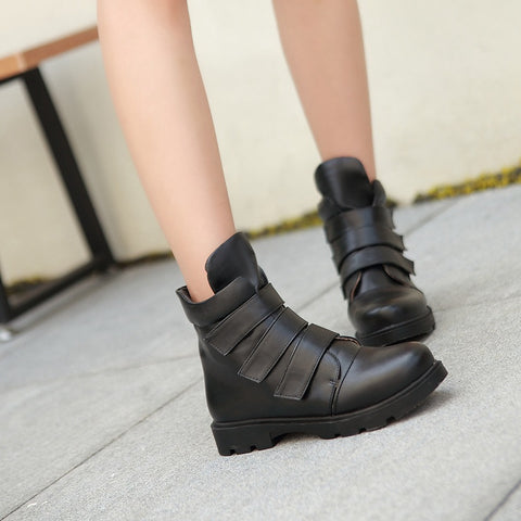 Velcro Ankle Boots Women Shoes Fall|Winter 11191501