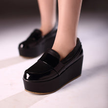 Load image into Gallery viewer, Women Wedges High Heels Platform Shoes 8894