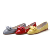 Casual Bowtie Women Flats Ballet Shoes