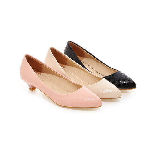Womens Pumps Party Dress Shoes Low Heels