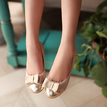Load image into Gallery viewer, Sweet Bow Women Flat Shoes  7366