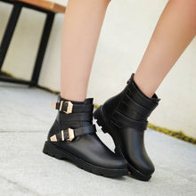 Load image into Gallery viewer, Buckle Ankle Boots Women Shoes Fall|Winter 11191501