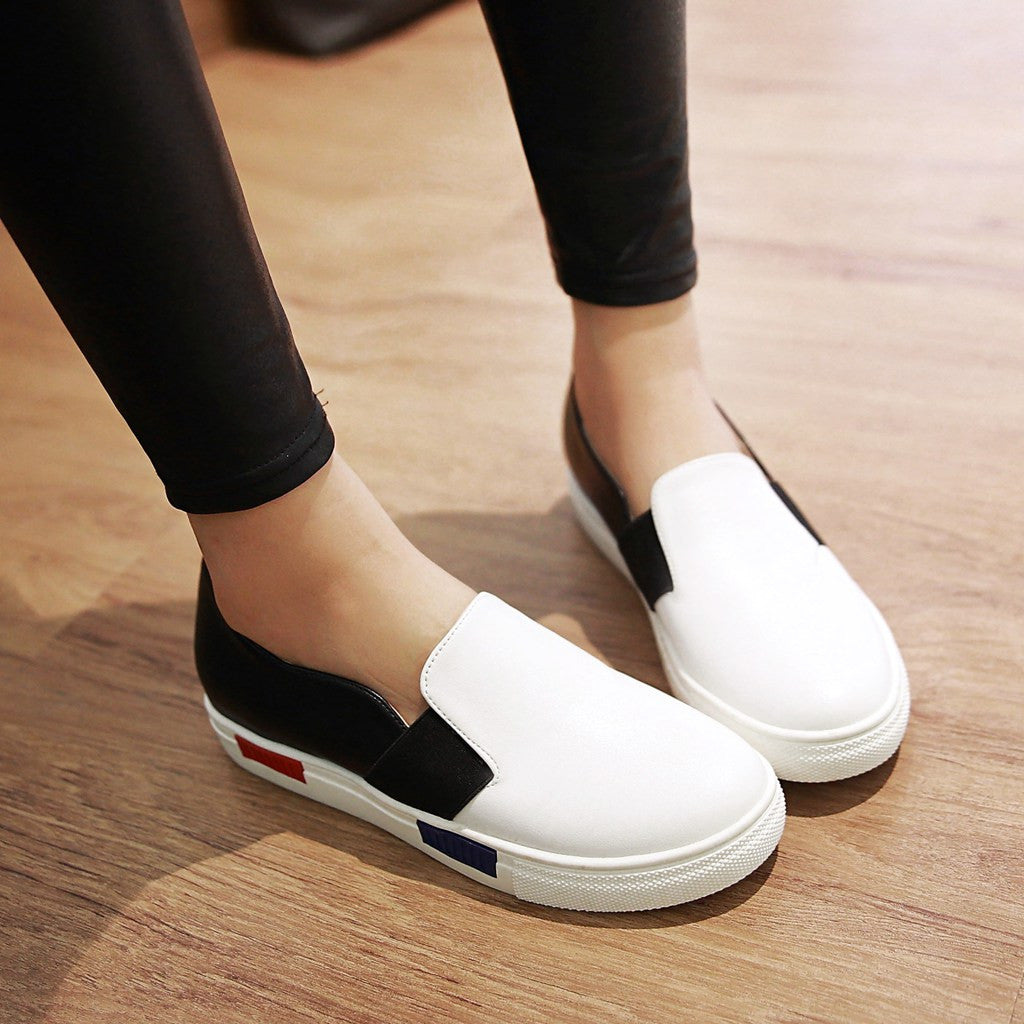 Casual Women Flats Loafers Platform Shoes