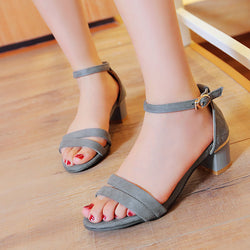 High Heels Sandals Ankle Straps Pumps Women Shoes