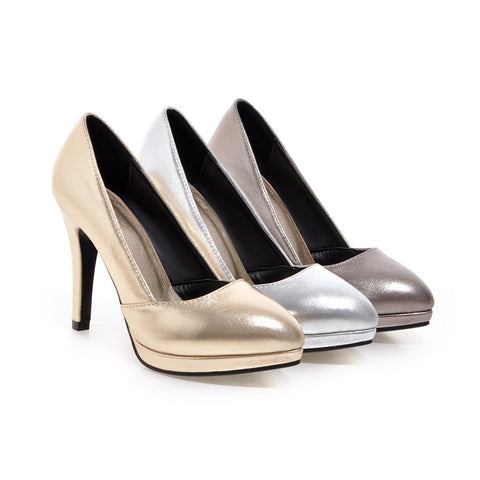Sexy Womens High Heel Work Shoes Pointed Toe Lady Pumps Party Dress Shoes