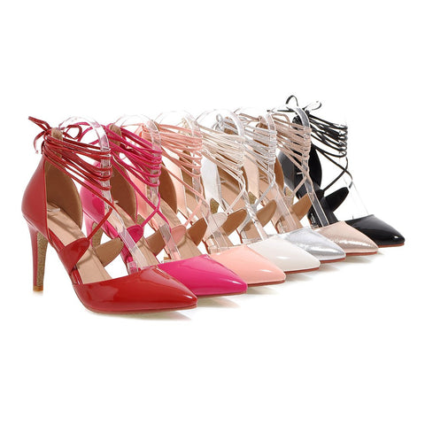 Summer Sandals Sexy Party Pumps High-heeled Shoes Woman