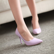 Load image into Gallery viewer, Pointed Toe Women Pumps High Heels Spike Shoes 1058