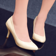 Load image into Gallery viewer, Pointed Toe Pumps High Heels Women Spike Shoes 6660