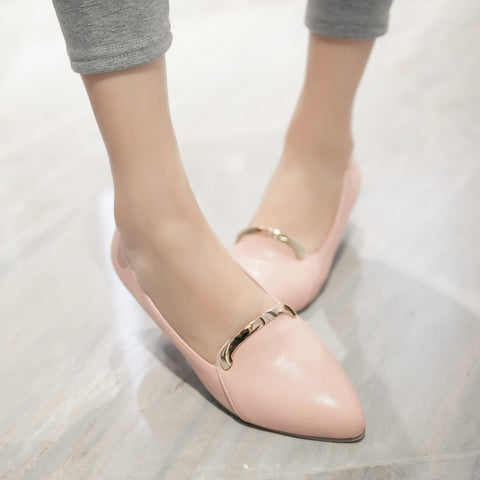 Pointed Toe Women Pumps Dress Shoes Plus Size