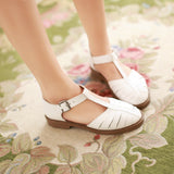 Buckle Sandals T Straps Summer Shoes Woman