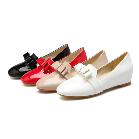 Women Flats Girl Casual Shoes Bowtie Ballet Shoes