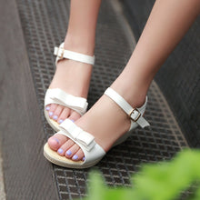 Load image into Gallery viewer, Summer Bow Women Sandals Wedges Platform Pumps High Heels Shoes 2016 5931