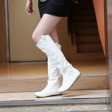 Load image into Gallery viewer, Buckle Flats Knee High Boots Women Shoes 5562