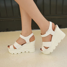 Load image into Gallery viewer, Bohemia Style Platform Sandals Women Wedges Shoes Woman