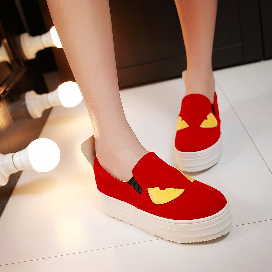 Comfortable Women Wedges Platform Shoes Plus Size