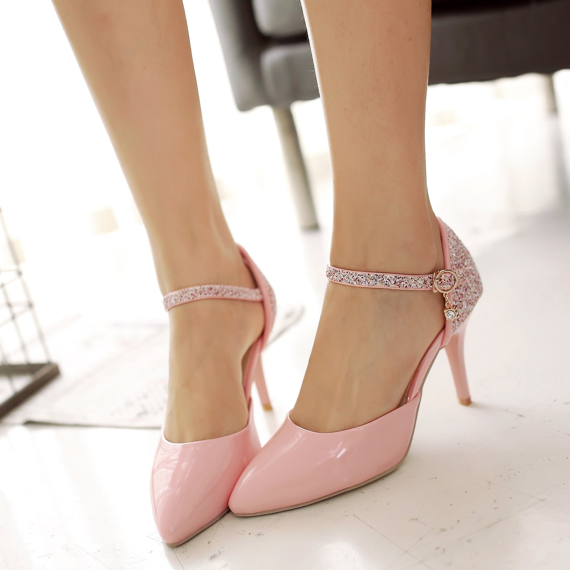 My-Shoe-Obsession on   Stiletto heels, Heels, Ankle strap