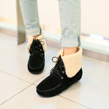 Load image into Gallery viewer, Fashion Women Ankle Boots for Autumn and Winter New Arrival Fur Warm Snow Boots 8001