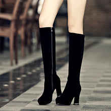 Load image into Gallery viewer, Fashion Women Knee High Boots for Autumn and Winter New Arrive Zipper 4369