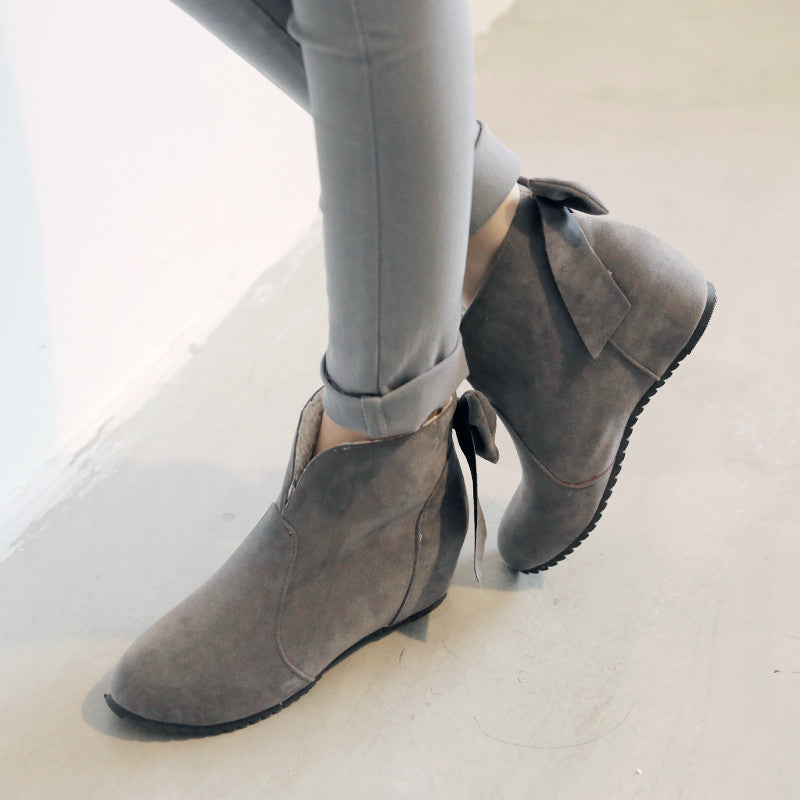 Ankle Boots With Bows