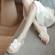 Load image into Gallery viewer, Rabbit Ear Wedges Women Platform Shoes 7796