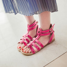 Load image into Gallery viewer, Fashion Gladiator Sandals Women Flats Shoes 9924