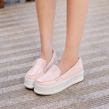 Load image into Gallery viewer, Fish Pattern Wedges Platform High Heels Women Shoes 1520