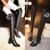 Ball Over the Knee Boots High Heels Women Shoes Fall|Winter 8605