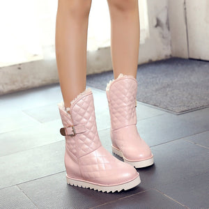 Buckle Snow Boots Women Shoes Fall|Winter 4917
