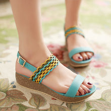 Load image into Gallery viewer, Fashion-Wedges-Sandals-Women-Platform-Shoes 5631