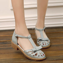Load image into Gallery viewer, Sandals with Bow Cutout Women Shoes