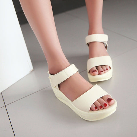 Fashion Studded Sandals Pumps Platform High Heels Women Dress Shoes 5905