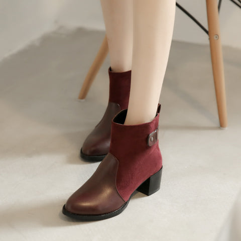 Ankle Boots High Heels Women Shoes Fall|Winter 11191501