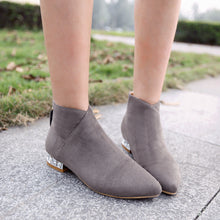 Load image into Gallery viewer, Pointed Toe Ankle Boots Women Shoes Fall|Winter 6790