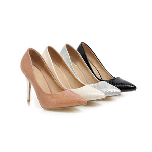 Pointed Toe Pumps Platform High Heels Fashion Women Shoes 8514