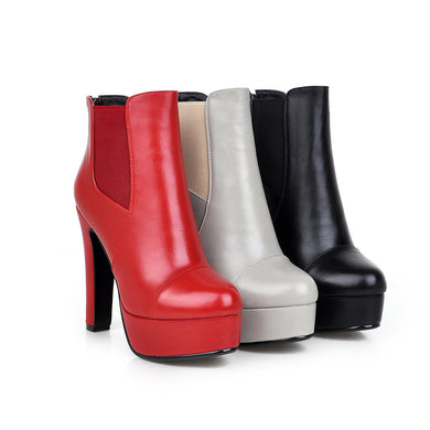 Ankle Boots High Heels Women Shoes Fall|Winter 6533