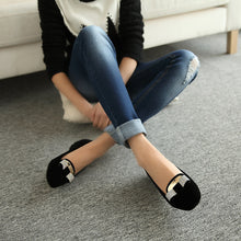 Load image into Gallery viewer, Rhinestone Women Flats Casual Shoes Black 1418