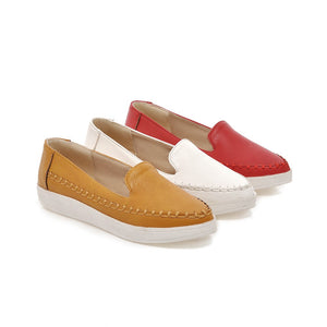Simple Flats Fashion Women Shoes 8994