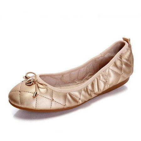 Casual Women Flats for Pregnant Woman TPR Sole Loafers Ballet Shoes