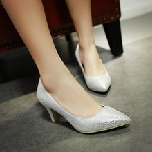 Load image into Gallery viewer, Womens High Heel Shoes Sexy Lady Pumps Party Dress Shoes