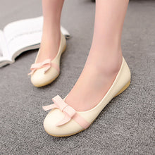 Load image into Gallery viewer, Women Flats Loafers Bowtie Ballet Shoes  1664