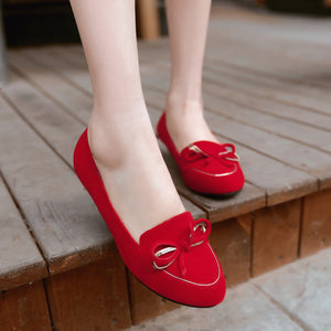 Sweet Bow Flats Women Shoes 6447