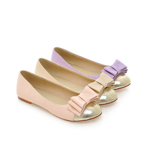 Sweet Bow Women Flat Shoes  7366