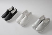 Load image into Gallery viewer, Wedges Platform High Heels Women Shoes White Black Sliver 9809