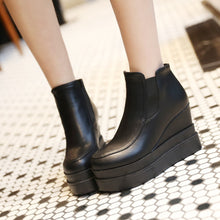 Load image into Gallery viewer, Fashion Women Ankle Boots for Autumn and Winter New Arrival Pu Leather 2964
