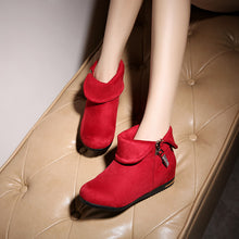Load image into Gallery viewer, Rhinestone Ankle Boots Women Shoes Fall|Winter 7843