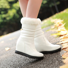 Load image into Gallery viewer, Fur Snow Boots Wedges Women Shoes Fall|Winter 2463