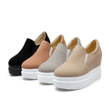 Women Wedges Platform Shoes Plus Size